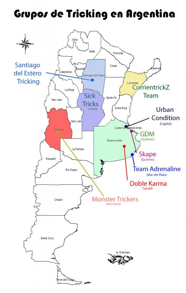 grupos de tricking en Argentina