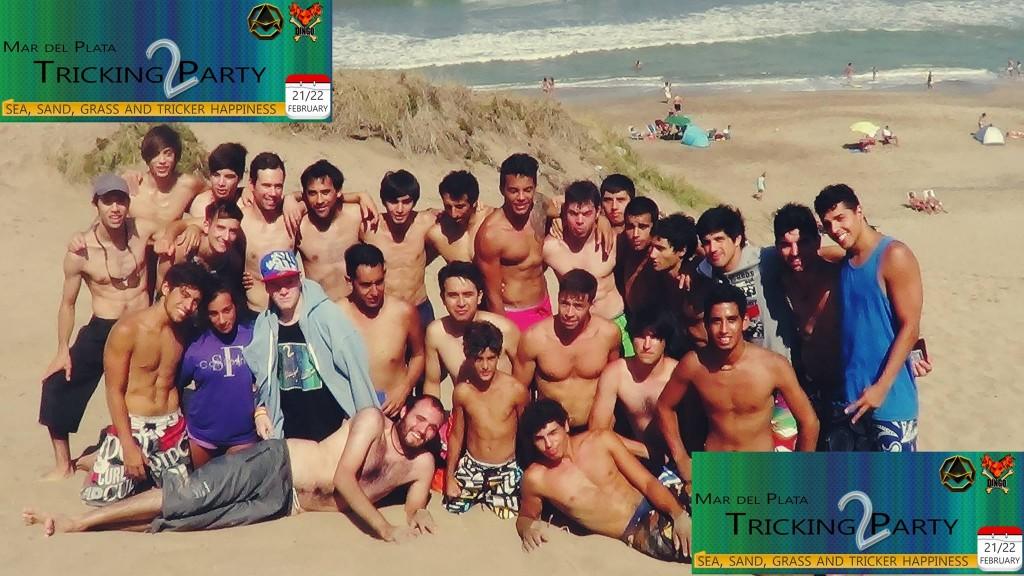 Tricking Party 2 Mar del Plata 2015